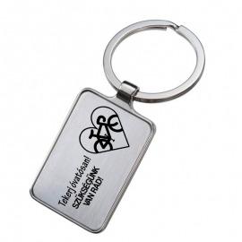 Gravírozott kulcstartó - Tekerj óvatosan