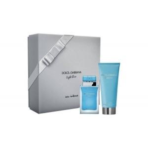 Dolce & Gabbana Light Blue Eau Intense EDP 50ml + 100ml Testápoló Szett Hölgyeknek