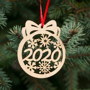 Fa karácsonyfadísz – 2020