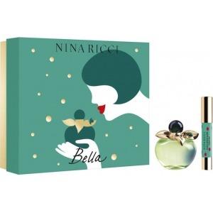 Nina Ricci (Les belles de Nina) Bella EDT 50ml + 2.5g Szájfény Szett Hölgyeknek