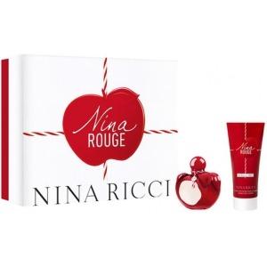 Nina Ricci Nina Rouge EDT 50ml + 75ml Testápoló Szett Hölgyeknek