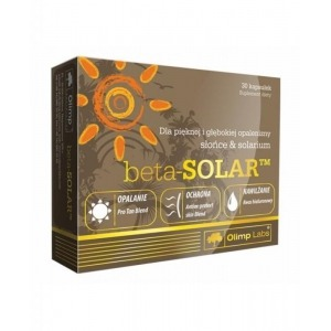 Olimp labs® beta-solar® világszabadalommal védett bőrvitamin - melanóma ellenes katekinekkel